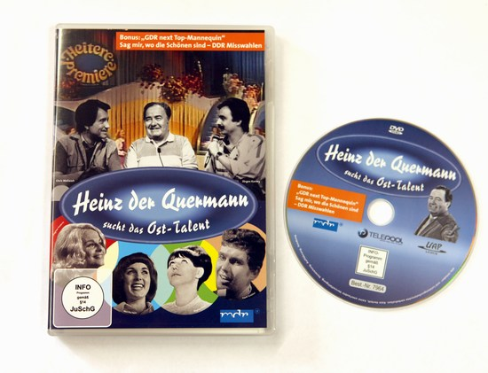 DVD - Quermann sucht das Osttalent